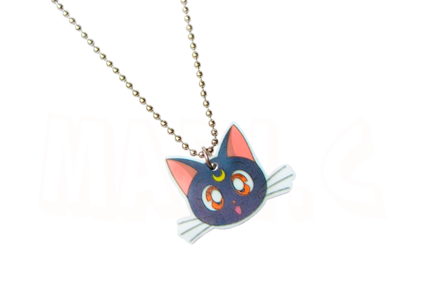 Colar da gatinha Luna do anime Sailor Moon 1
