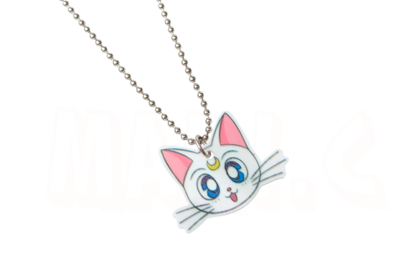 Colar da gatinha Artemis do anime Sailor Moon 3